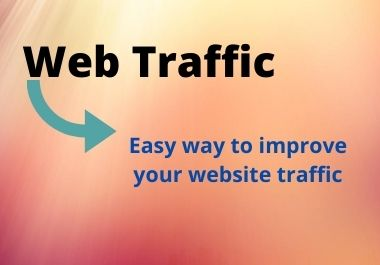 I will drive unique web traffic
