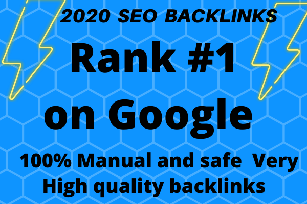 I will build SEO backlinks through blogger outreach high quality link building service off page SEO