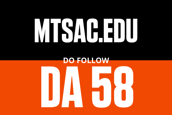 Strong edu guest post from MTSAC edu DA 58
