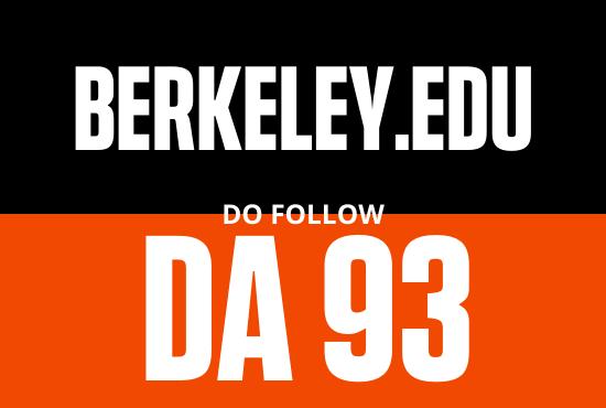 Strong edu guest post from BERKELEY EDU DA 93