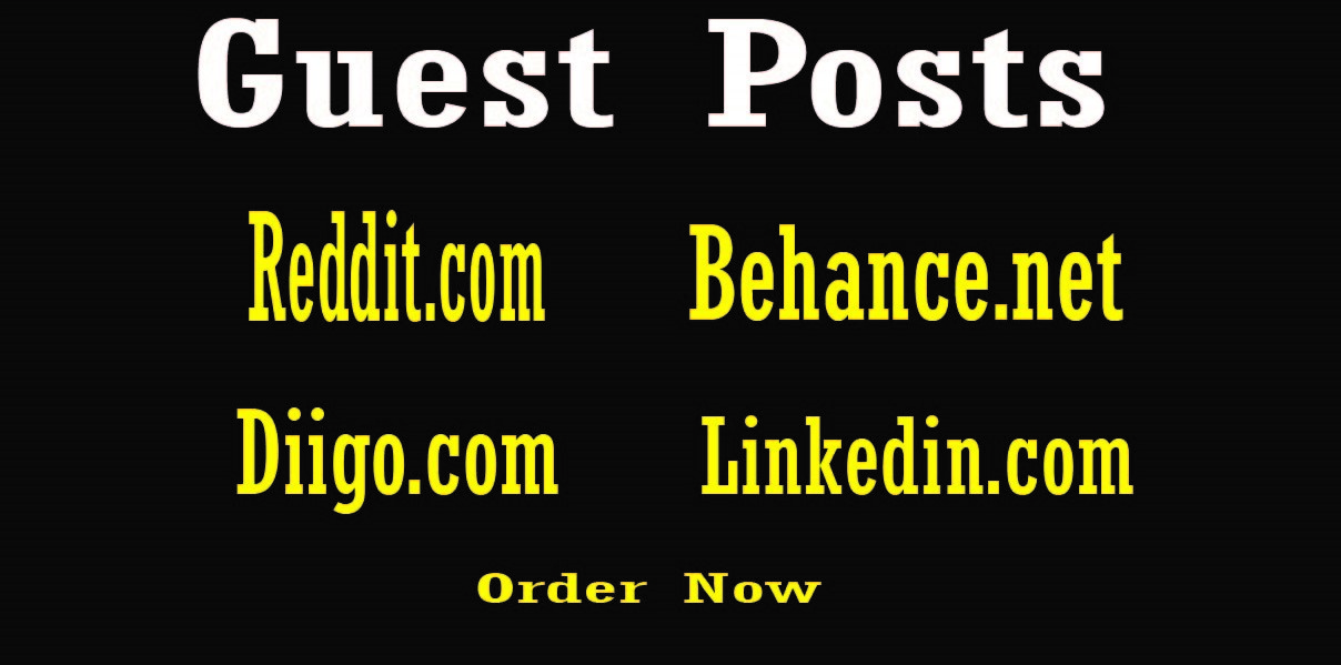 I will publish 4 Guest Posts to your SEO Ranking