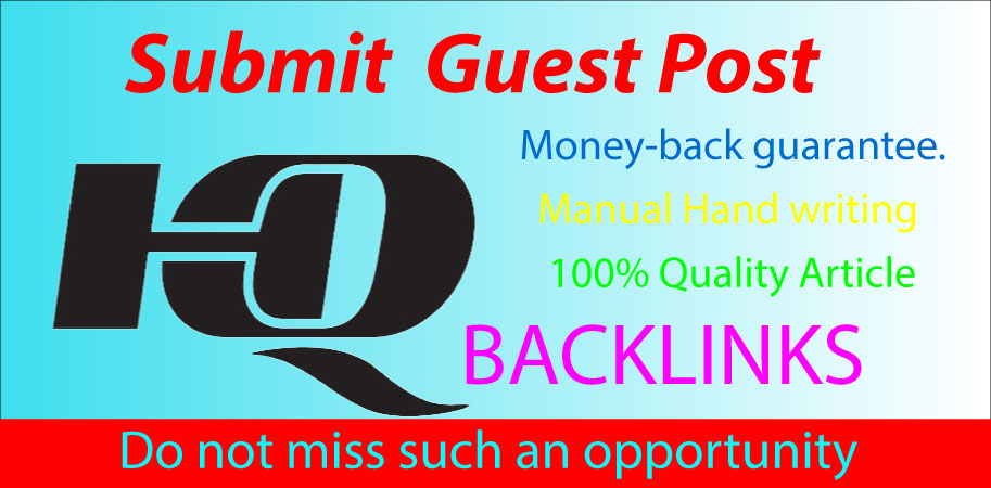 I Will Write and Publish 5 Guest Posts High Quality Website Google Indexable