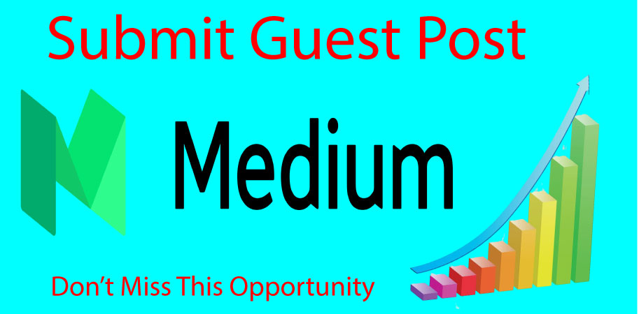 Write and Publish Guest Post on Medium High Quality DA 96 / PA 81 Indexable