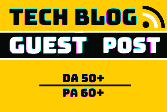 outreach and publish guest post Technology blog