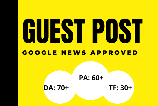 publish guest post google news approved site