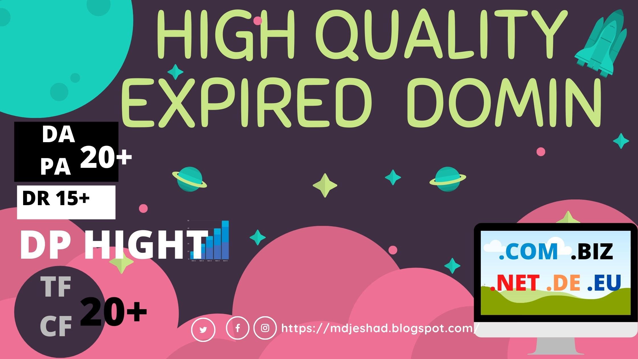 I will find guaranteed niche related high quality expired domain
