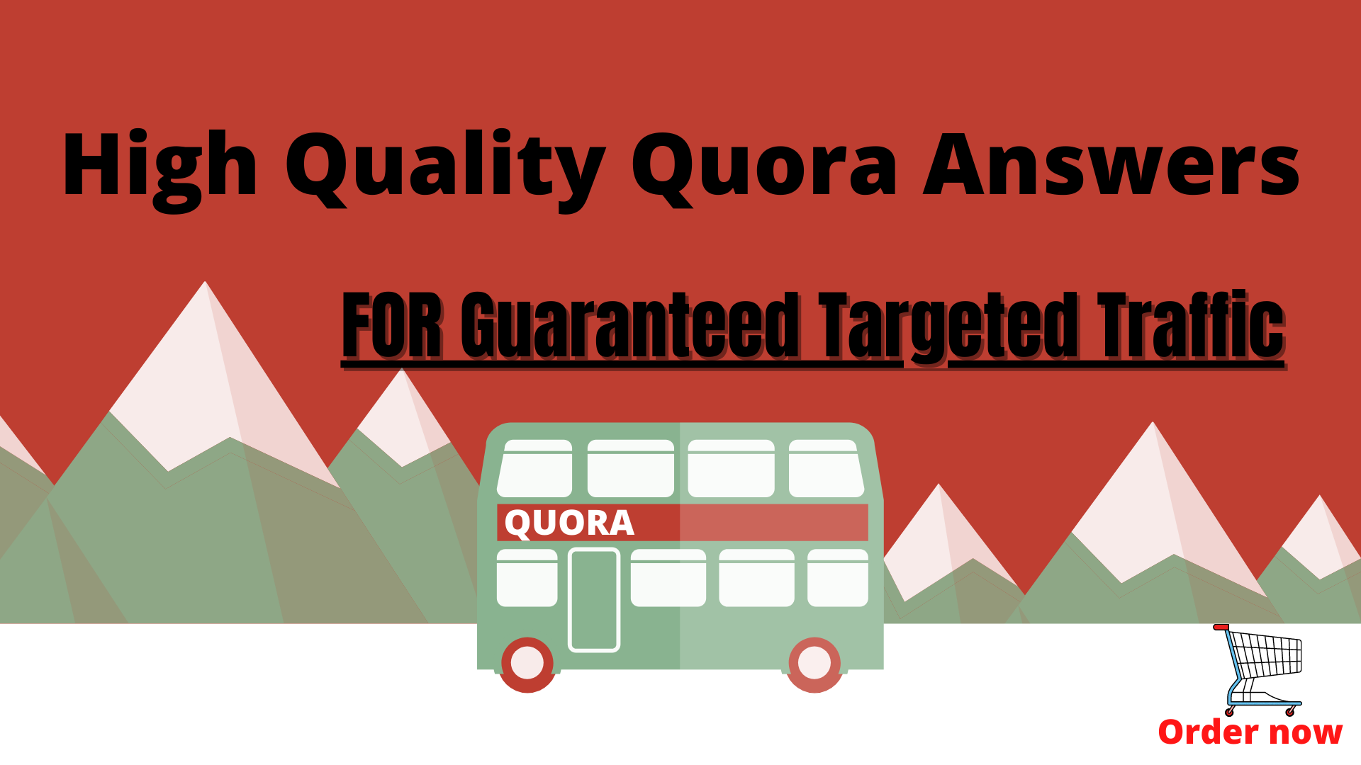 Guaranteed Traffic To Your Website With 30 High Quality Quora Answers