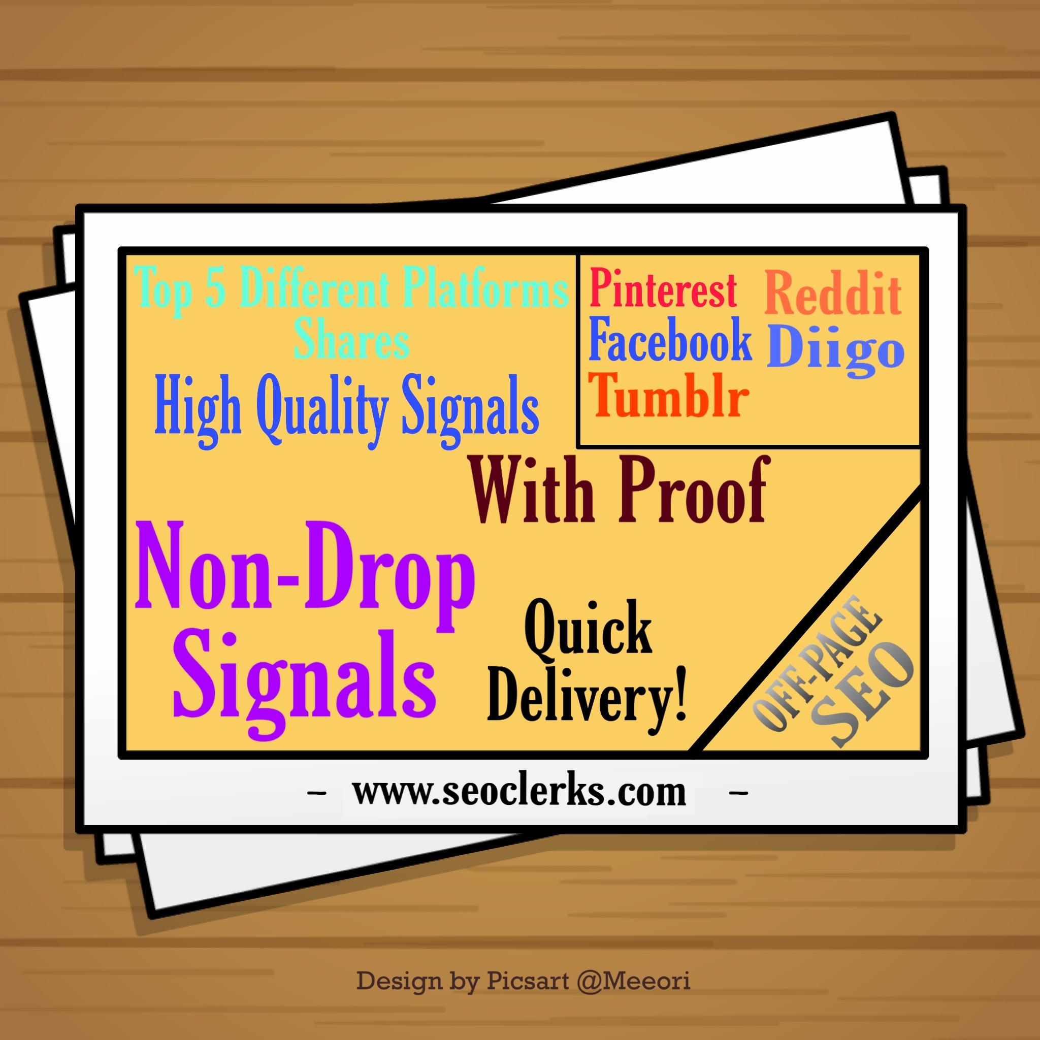 Best 5 platforms 8,185 Mixed signals of Facebook/Reddit/Pinterest/Diigo/Tumblr.