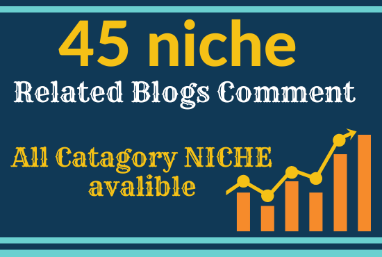 I will give 45 niche related high quality SEO backlinks
