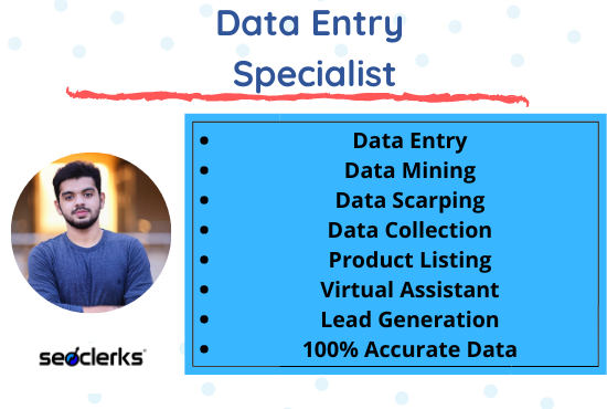 I will do Excel Data Entry and Web Research For Your Business