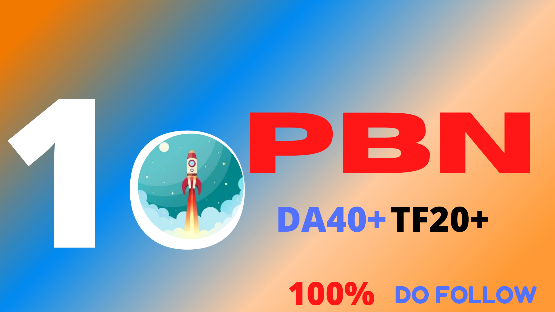 I will do 10 High Quality PBN back link DA 40 +TF20+permanent
