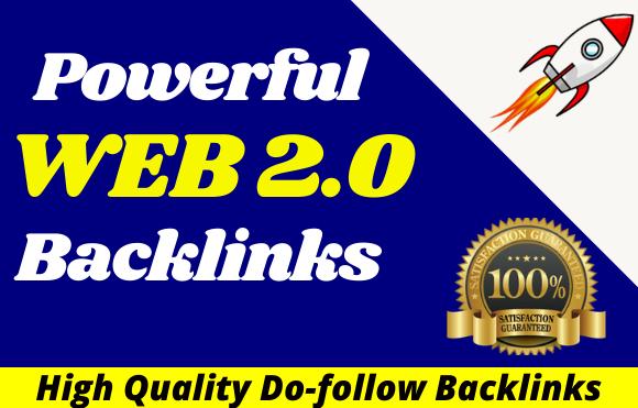 I will create 15 web 2 0 backlinks manually