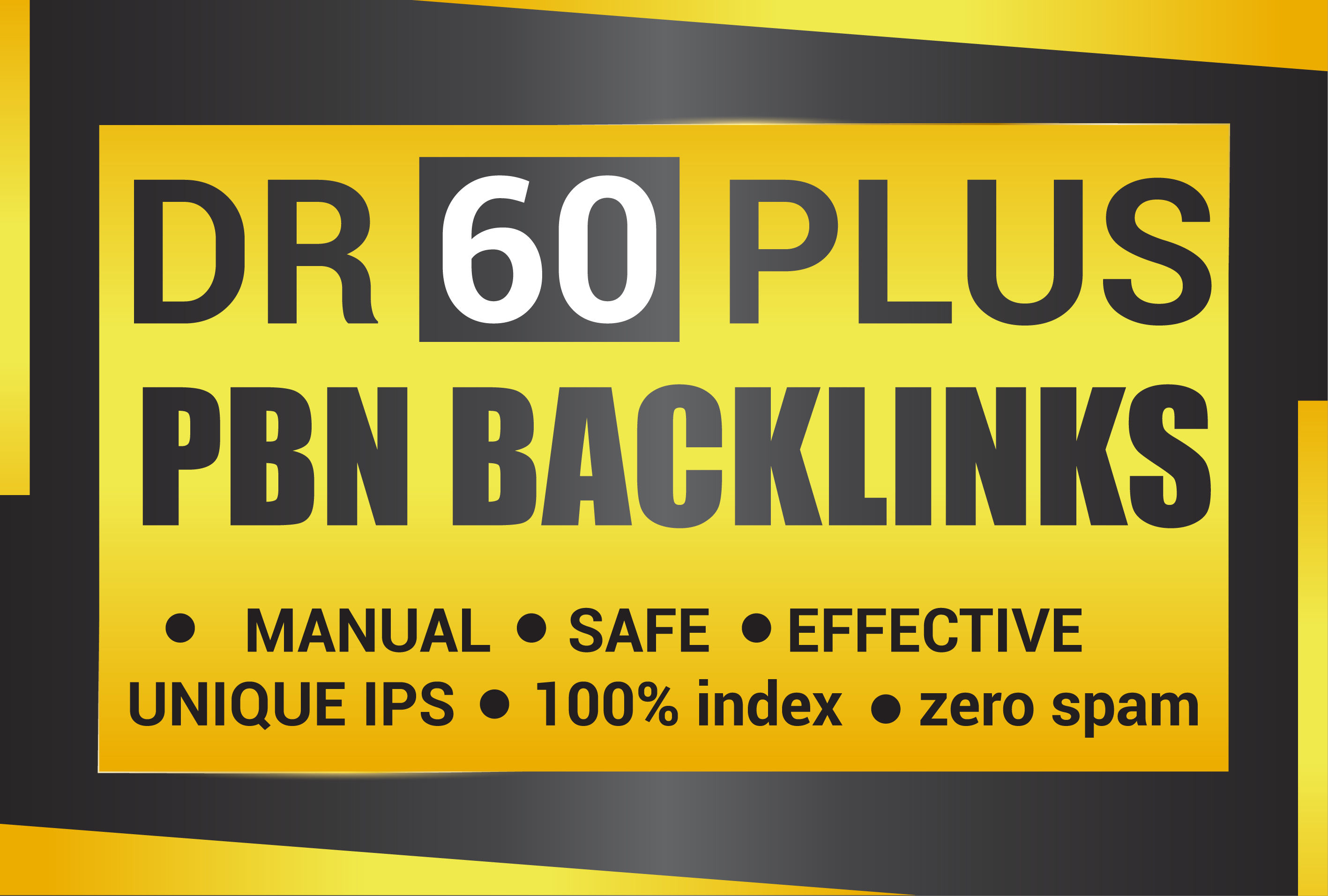 Permanent 10 DR 60 Plus Homepage High Quality PBN Backlinks
