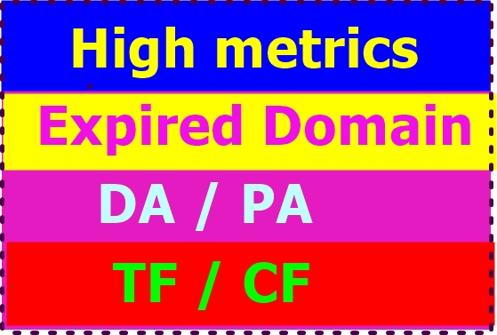 I will research 25 SEO friendly high metrics expired domain
