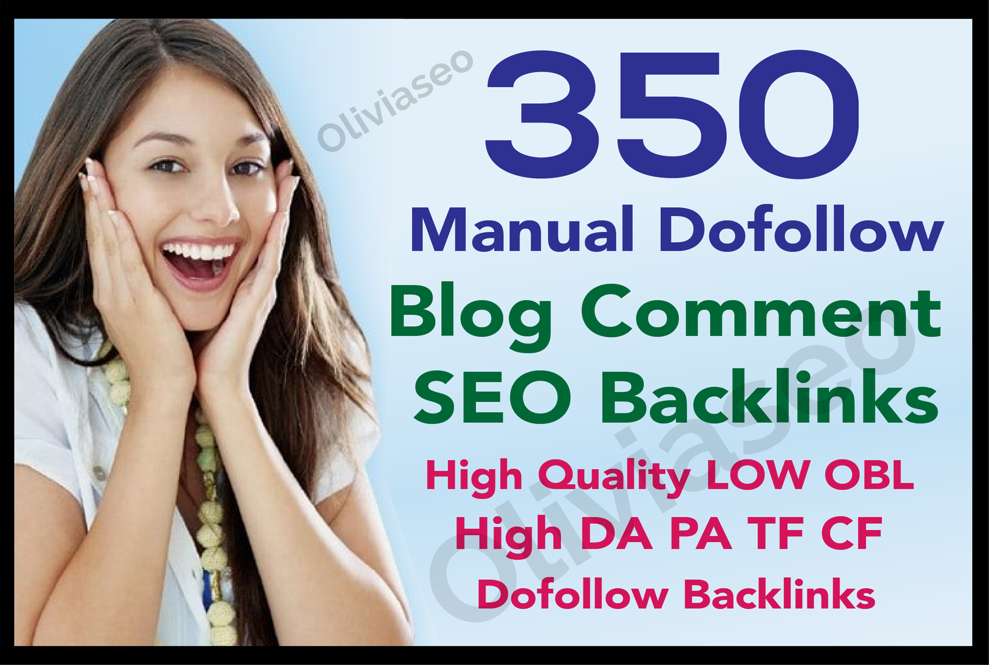 I Will Create 350 Blog Comments unique domain and manually Dofollow Backlinks High Authority