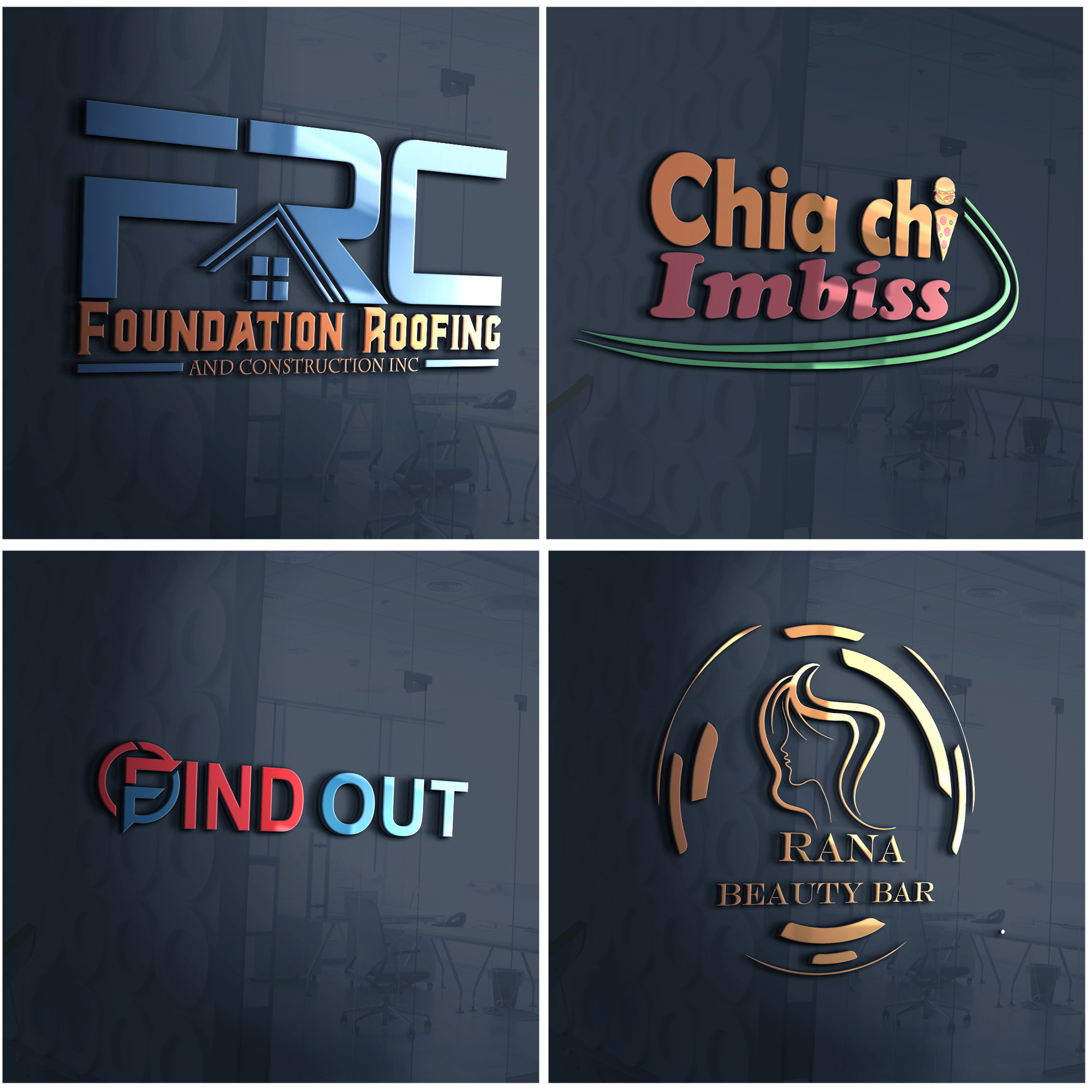 I will do design a creative logo for your business
