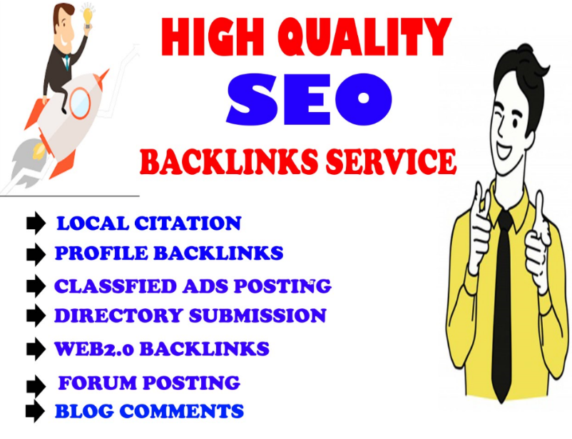 Create manually 500 Mix High Authority SEO Backlinks for your Website for any country