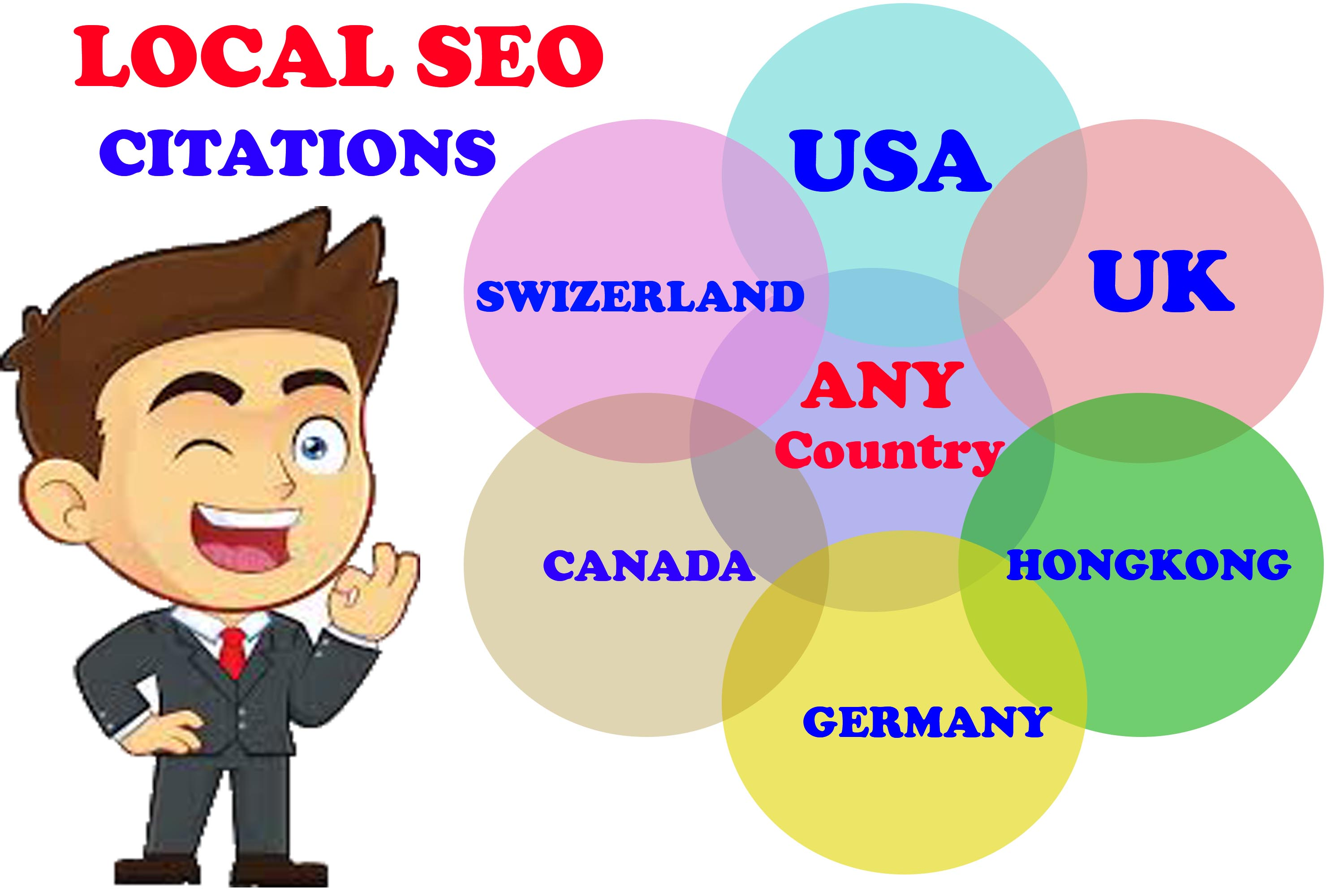 I will do manually best 50 local citations or Local seo or map listing For Any Country