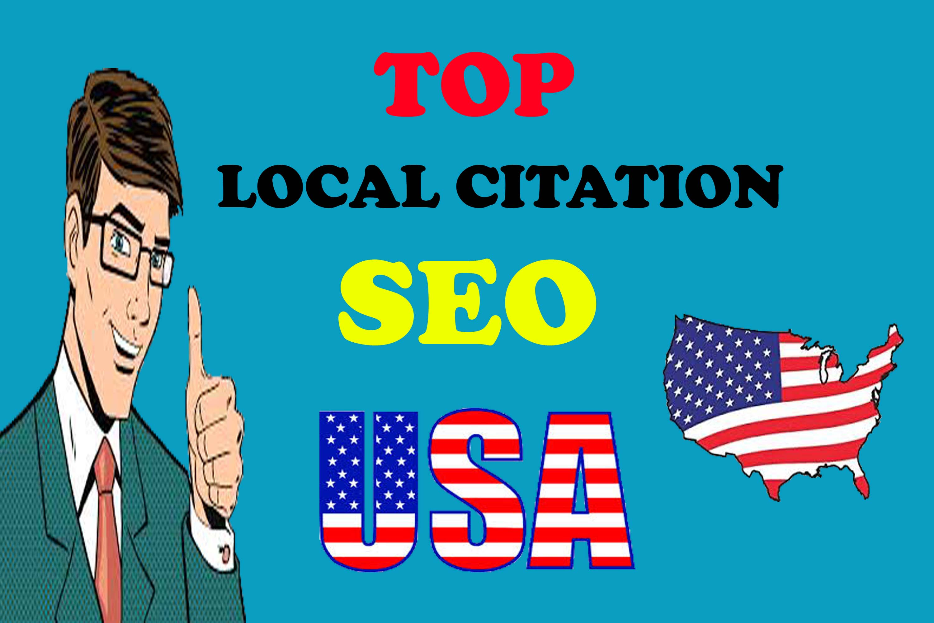 I will create manually Live Top 100 USA local citation or local SEO listing for your website