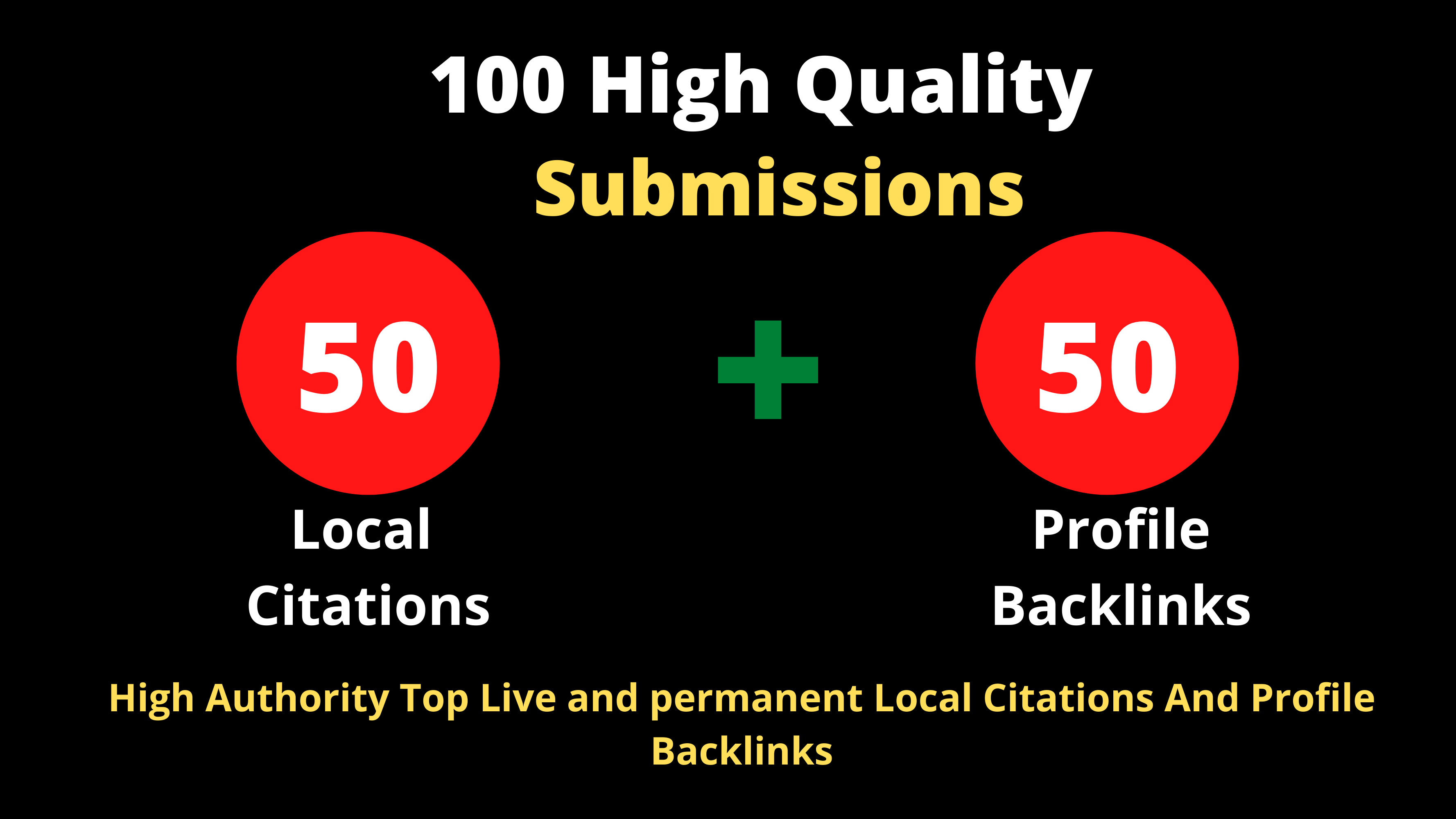 50 Top Local citations + 50 High Authority Profile Backlinks To Boost Your Website Ranking