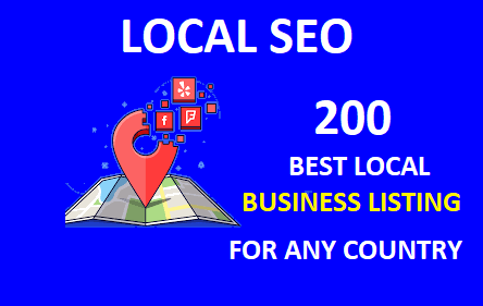 I will do best 200 Live local citations USA,  UK,  Switzerland,  UAE,  Canada,  China for any country