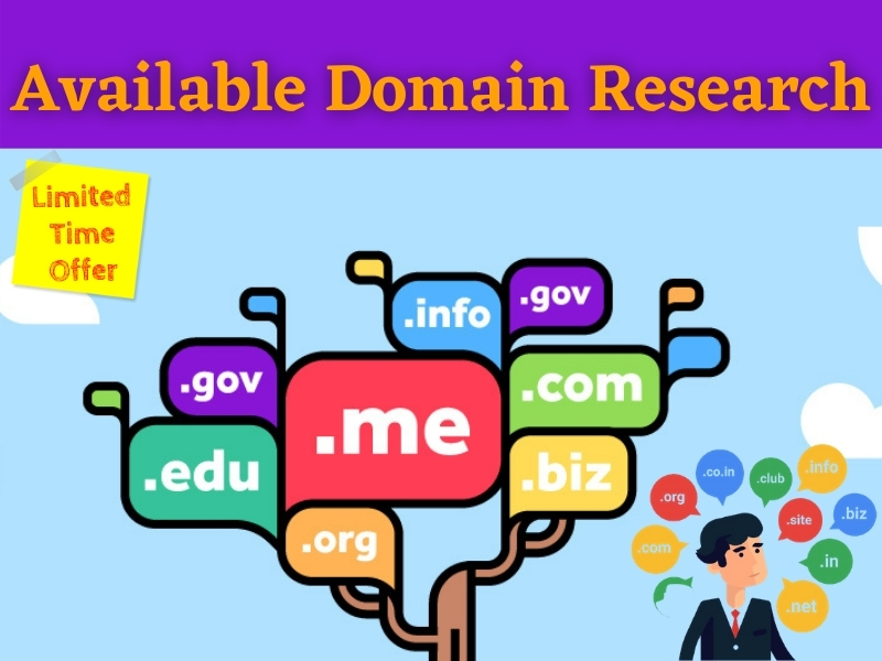 I will Find Best Available Domain name with Current Price for your Business