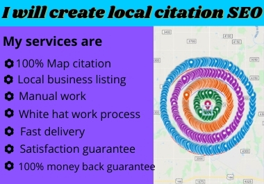 I will create 500 Local Citation & connect 10 Driving Direction