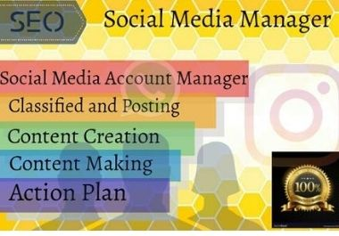 Social Media Manager is the most popular in the world. Most of the people can use the social media.