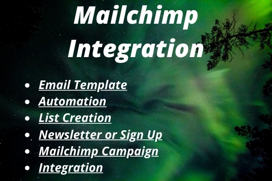 I will design mailchimp email template and newsletter