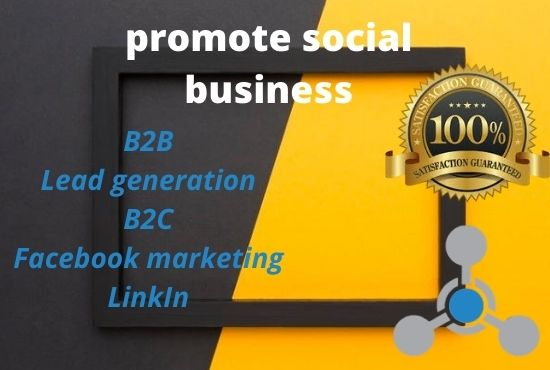 I Will do professional B2B and Lead generation
