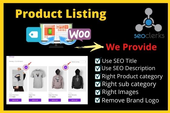 Product Listing On Your E-commerce Store