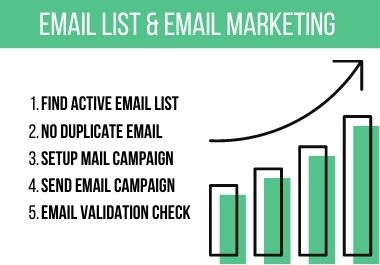 I Will Find Targeted Email List & Do Email Marketing
