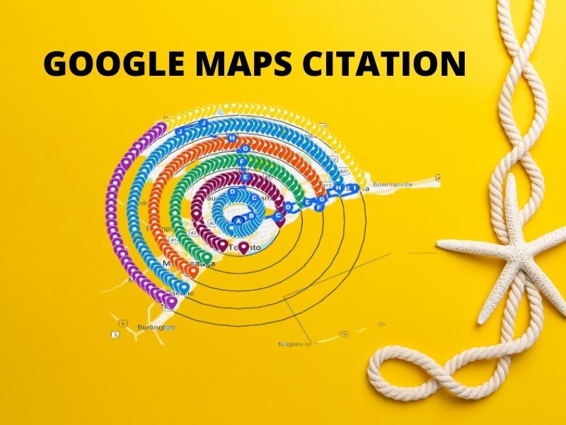 I will create 800 Google maps citations