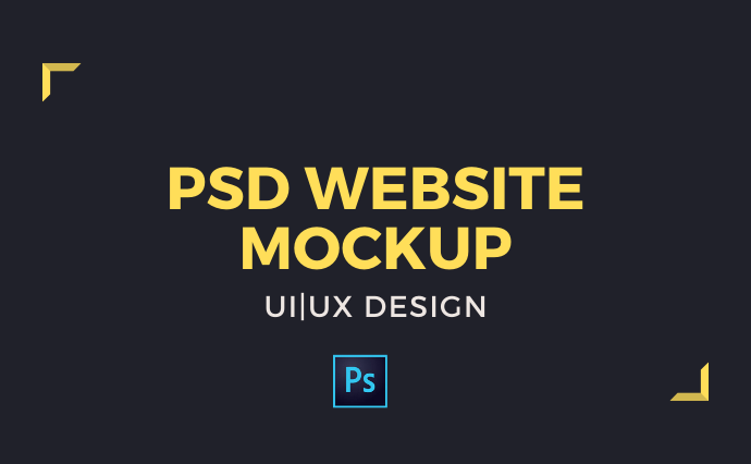 I will design modern website in PSD format or do mockup