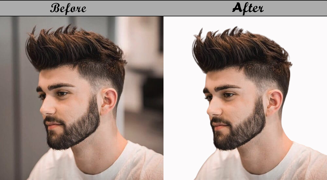 I will remove or change any type of image background in Photoshop