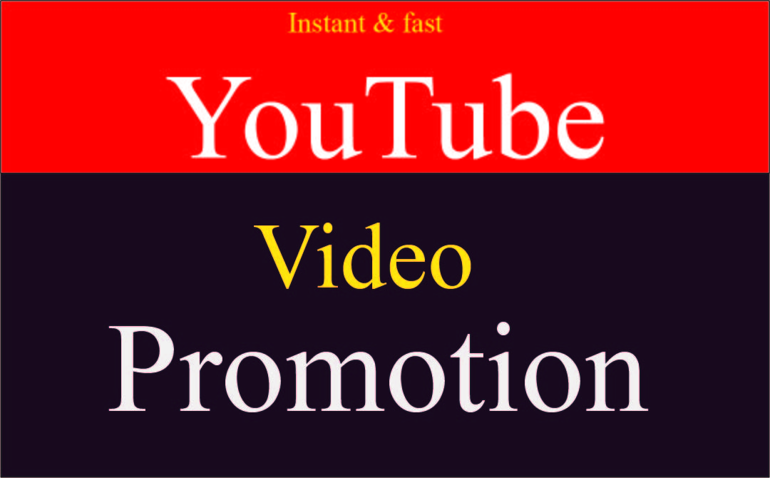 I Will do organic youtube promotion to boost your videso