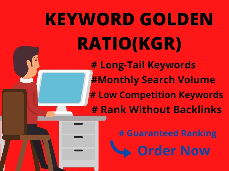 I will do 30 kgr keyword research that will rank fast on google
