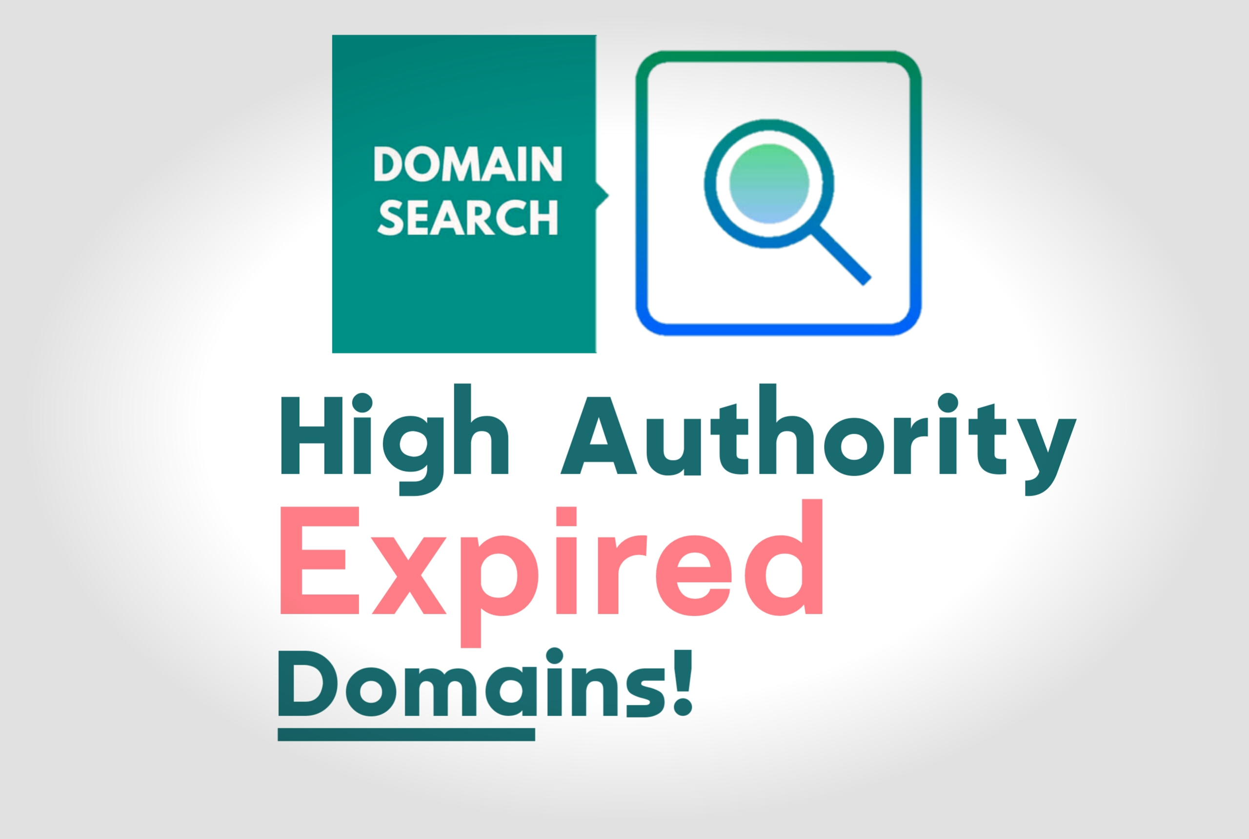 I will find high DA PA expired domains that actually rank