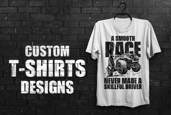 I will create Graphic design t-shirt for your