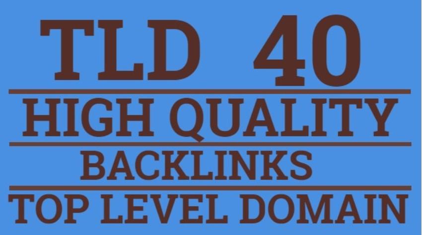 I will Create TLD US UK Canada Australia Germany Dofollow Backlinks