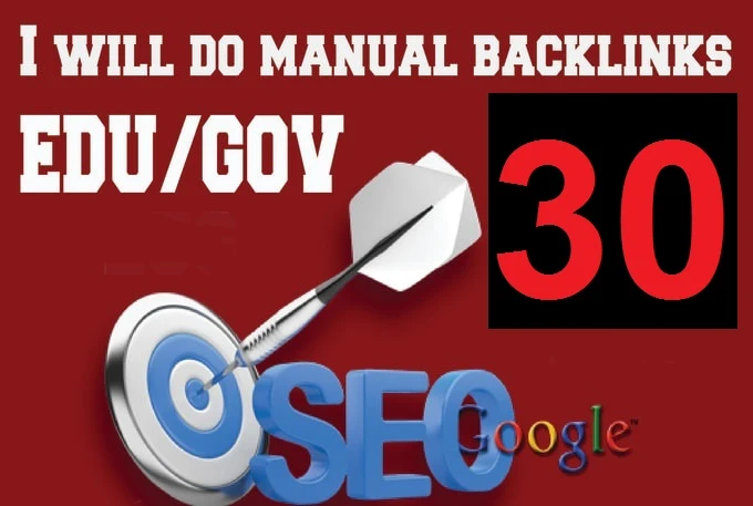 Complete SEO Pack Get 30 Edu & Gov Backlinks with reports,  Check extras for complete seo