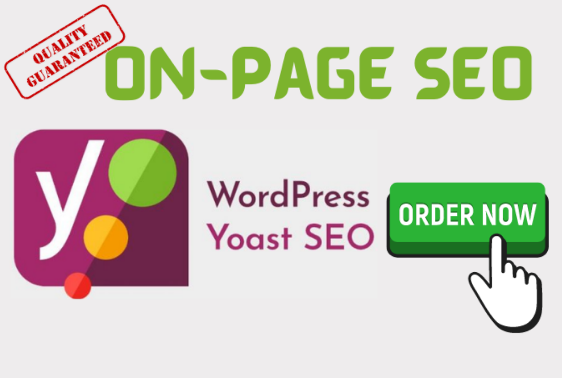 I will provide complete on-page seo service of wordpress site