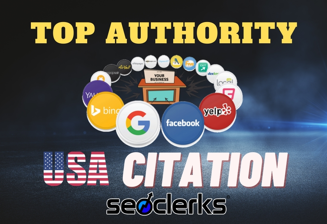 I will make 100 USA local citations and directory submission