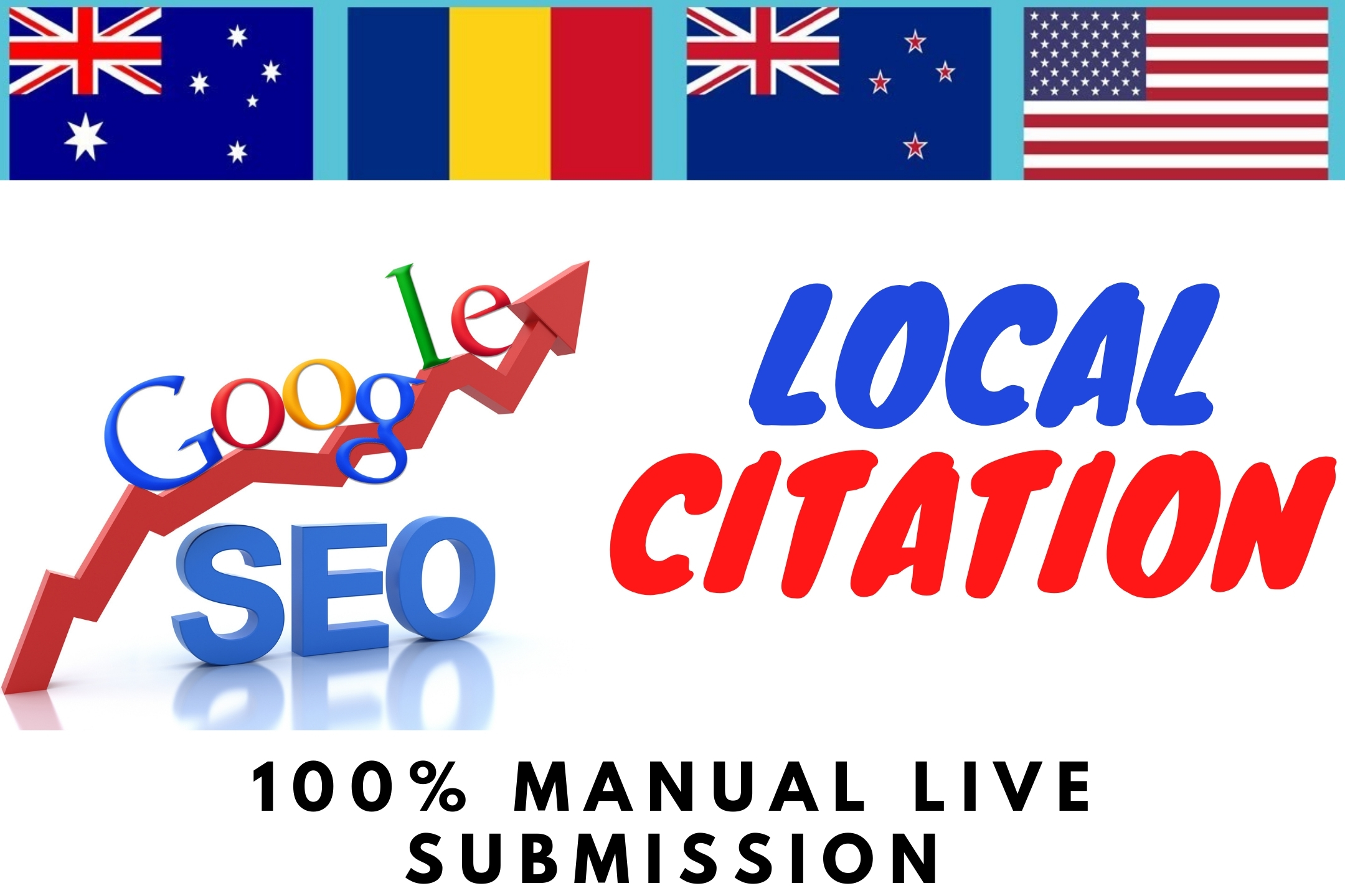 I will Rank 100 Live local citations on local business listing