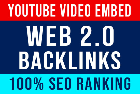 I will rank youtube video with web 2 0 backlinks
