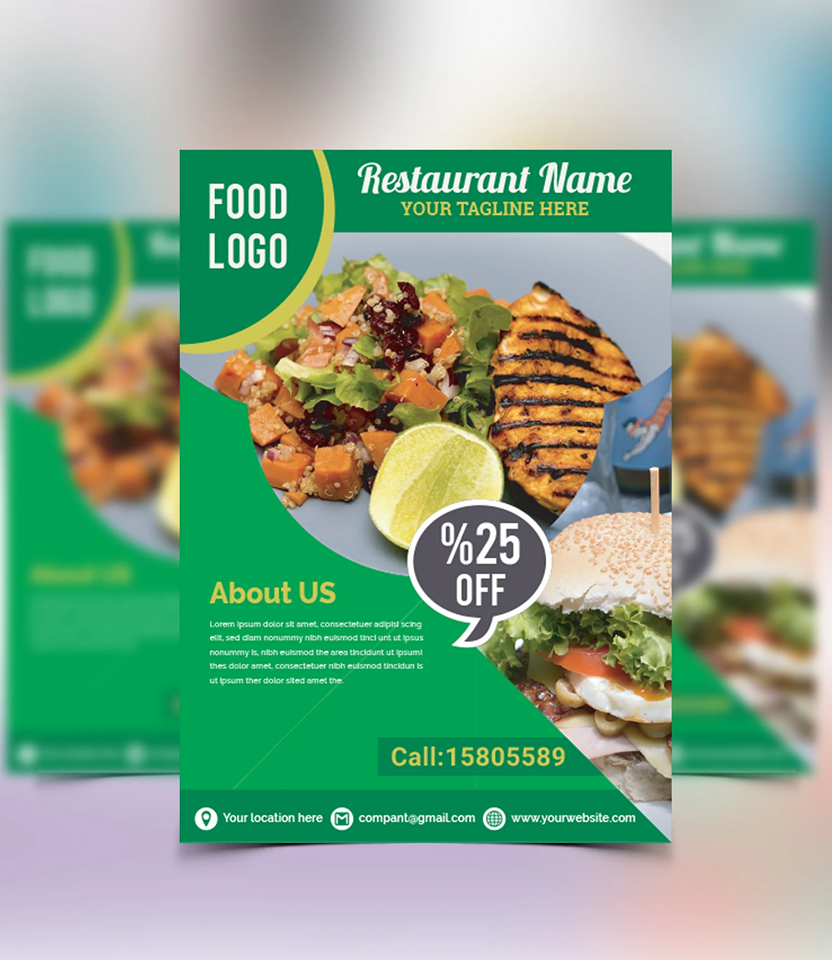 I will design a professional flyer for you in 5 Hours