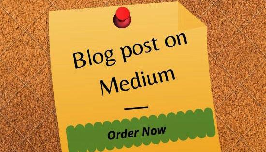 Write And Publish Guest Post On DA 96 Medium. com