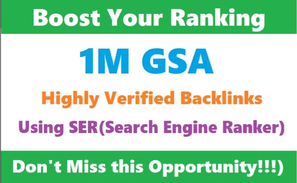build tier2 or tier3 GSA backlinks using search engine ranker
