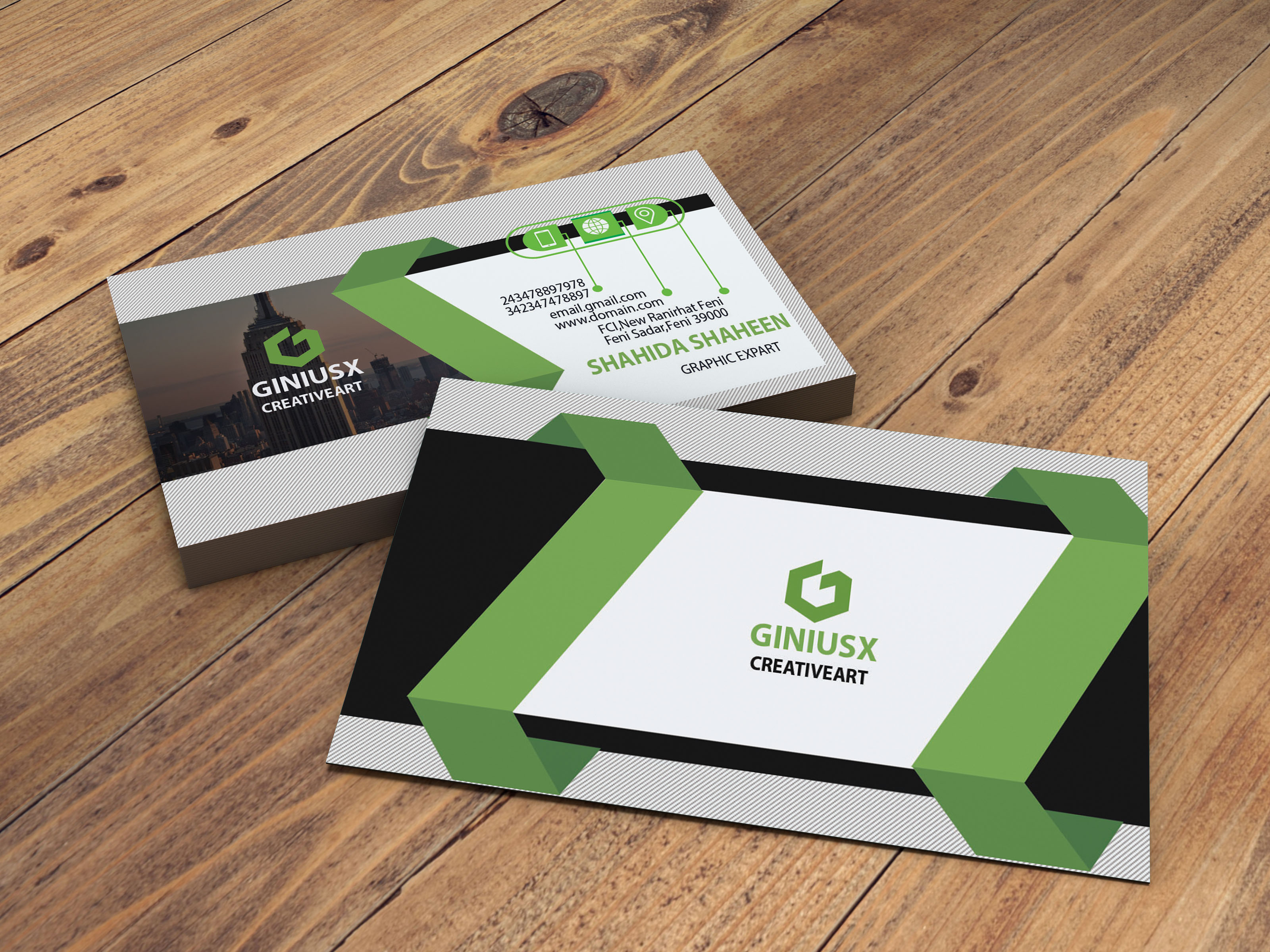 l will create a professional Business Card