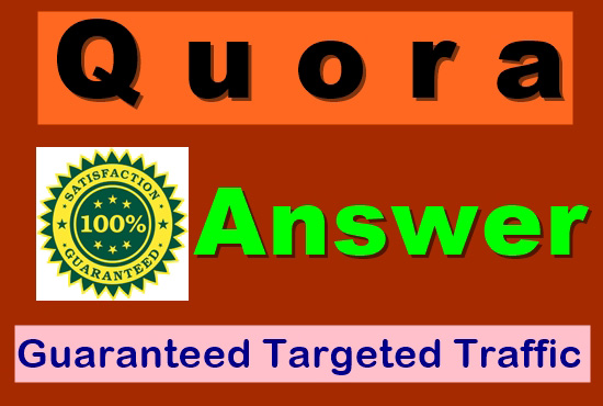 Offer 15 Quora Answer For Getting Huge Traffic
